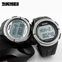 SKMEI 1058 Body fit Heart rate monitor measurement with pulse alarm clock watch