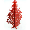 Christmas decorative wood tree/wood carving christmas tree for sale
