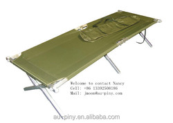 Folding bed with carry bag
