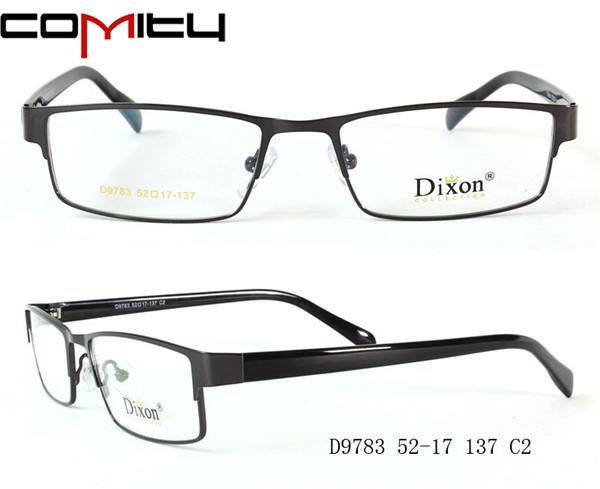 Popular!! Los anteojos de metal marcos ópticos de Dixon-Molduras ...