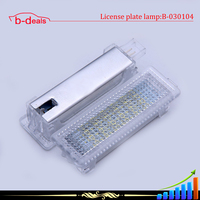car accessories E90 E90N E92 E60 E60N auto LED door Courtesy lamp for bmw