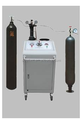 Nitrógeno de carga de la unidad y alta presión nitrógeno presurización máquina \ Gas primavera equipo de carga
