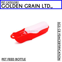 Dog drinker bottle pet feeding bowl foldable travel dog water bottle