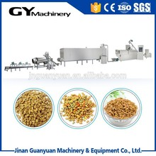 China made pet food process line/pet fish & dog food machine