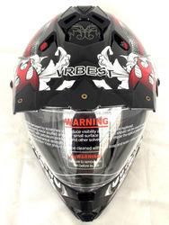atv motorcycle helmet with sun visor