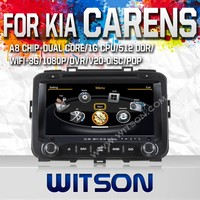 WITSON CAR DVD PLAYER WITH GPS FOR KIA CARENS 2013 WITH 1080P 1G DDR BLUETOOTH GPS WIFI 3G GPS