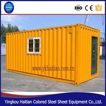 Cheap modern prefab house with sandwich panel best price, container coffee shop