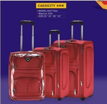 Fabric trolley luggage EVA trolley luggage solidtrolley luggage