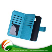 100% Warranty Custom-Tailor Leather Belt Clip Flip Wallet Case For Iphone 6 Plus