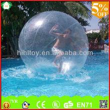 Interesante el juego 2m dia o personalizar pvc humanos de agua bola de la burbuja, el agua caminando las bolas para la venta