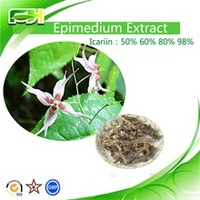 100% natural High purity Epimedium Capsules (Horny goat weed extract)