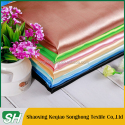 China keqiao supplier satin panty pics for garment lining