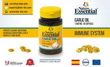 Garlic Oil 1000 mg 60 Softgels - Food Supplement
