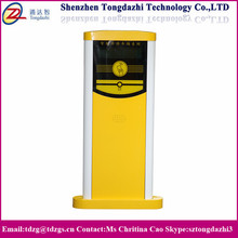 Vehicle access control barrier gate payment machine for depot