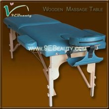 portable 3 section wooden physical therapy tables