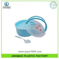 Microwave Plastic Food Container box for cutlery