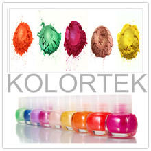Candy Nail Colors, Nail Mica Pigment Powder, Cosmetic Mica Color Pigments