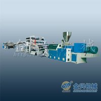 guangdong customized thick sheet extruder line