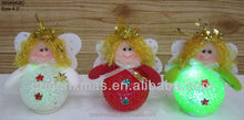 Light up angel ornament led light christmas angel with eva