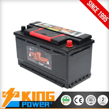 12V DIN Standard 80AH car battery 58034MF auto battery with good quality
