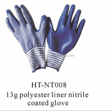 13g nitrile coated glove for all kinds of use / hand protection nitrile gloves