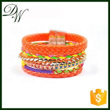 white jade with , wholesale braided bracelet, handmade bracelet