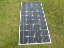 156*156 cell mono 150w solar panel in china factory low price per watt stock solar panel