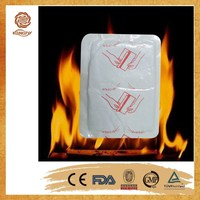 CE ISO approved self heating pad health care product body warmer pad