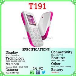 1.77'' screen dual sim quad band original feature big battery mp3 music phone cell