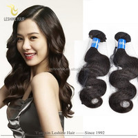2015 Hot sale Virgin Unprocessed High Quality indian body wave real vagina hair big sharp boobs