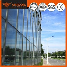 Wide range of applications aluminum extrusion curtain wall profile