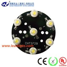 led pcb with assembly bridgelux, Epistar chips high power led