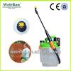 (23059) 5L adjustable pressurized fine mist airless rechargable battery portable handy plastic garden sprayer pumps