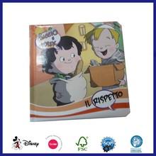 Cartoon Picture Printing Coloring Story Cardboard Book Printing