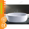 2RC-D6713 pet bathtub and baby cast iron bathtub with wooden apron bathtub