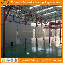 Exported Aluminum sheet powder paint coating machine