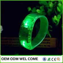 Sound activated for party LED flashing bracelet