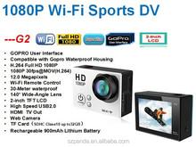 G2 WIFI CAM FULL HD Wi-Fi sport dv camera action camera underwater camera, g2 sport dv