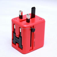 Wholesale English packaging travel power converter socket adapter electrical adapters