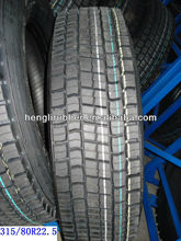 Chinese trailer tires providers 315/80R22.5