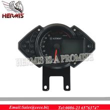 Motorcycle parts Universal Digital motorcycle speedometer electronic speedo meter best sell of China sale BJ24-4 Motorcycle