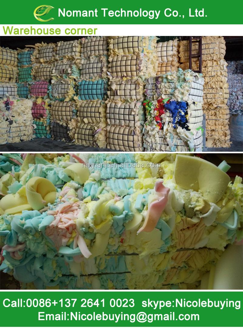 Latest pu foam scraps in USA market selling