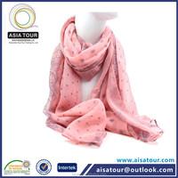 Fashionable Printed Lady Scarf Winter Neck knitting pattern animal scarf Color Stock Korea Muffler Scarf