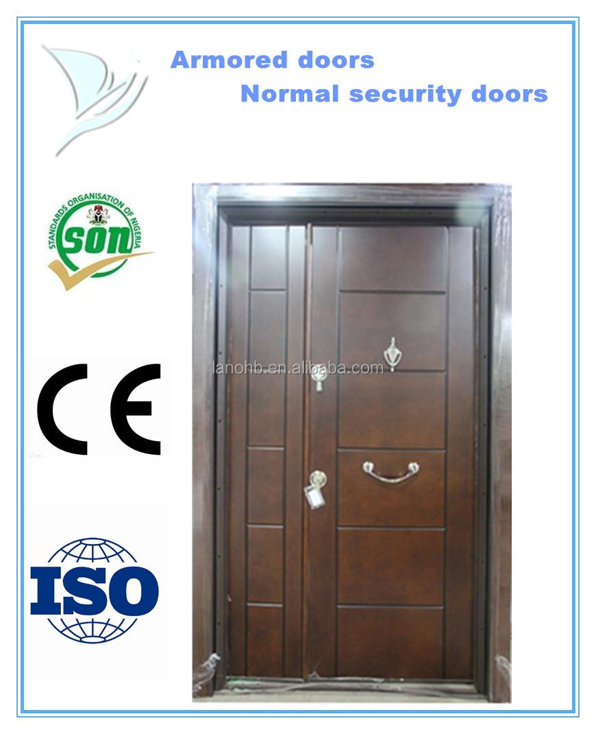 Steel security door used exterior steel doors turkey steel for Steel front doors for sale