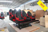 6 DOF hydraulic motion seat,5D simulator cinema