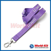 2015 China Wholesale Cheap polyester Lanyard/single custom lanyard