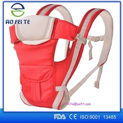High Quality Breathable Ergonomic Adjustable Infant Wrap Sling Baby Carrier