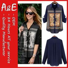 ae de moda nuevo modelo blusas cuello