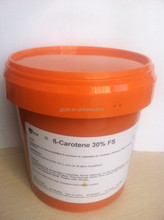 Hot sale natural beta carotene powder 30%/carrot extract