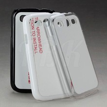 2D sublimation plastic cell phone case/ 2D cell phone case /2D sublimati blank mobile phone cover